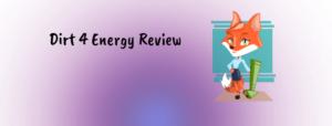 Dirt 4 Energy Review
